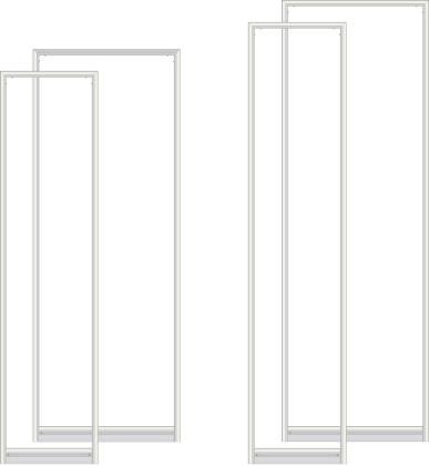 aufsteller silber flat base magnet frame expolinc rahmen foyer aufsteller. Black Bedroom Furniture Sets. Home Design Ideas
