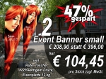 Beachflag Eventbanner
